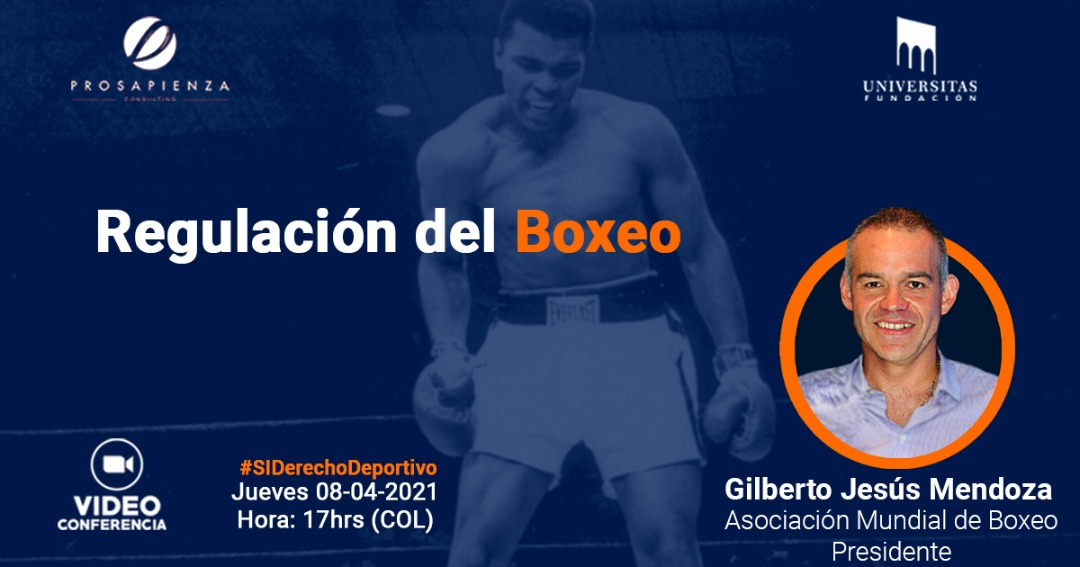 "Gilberto Jesus Mendoza will be a speaker at the ""Boxing Regulation"" conference"